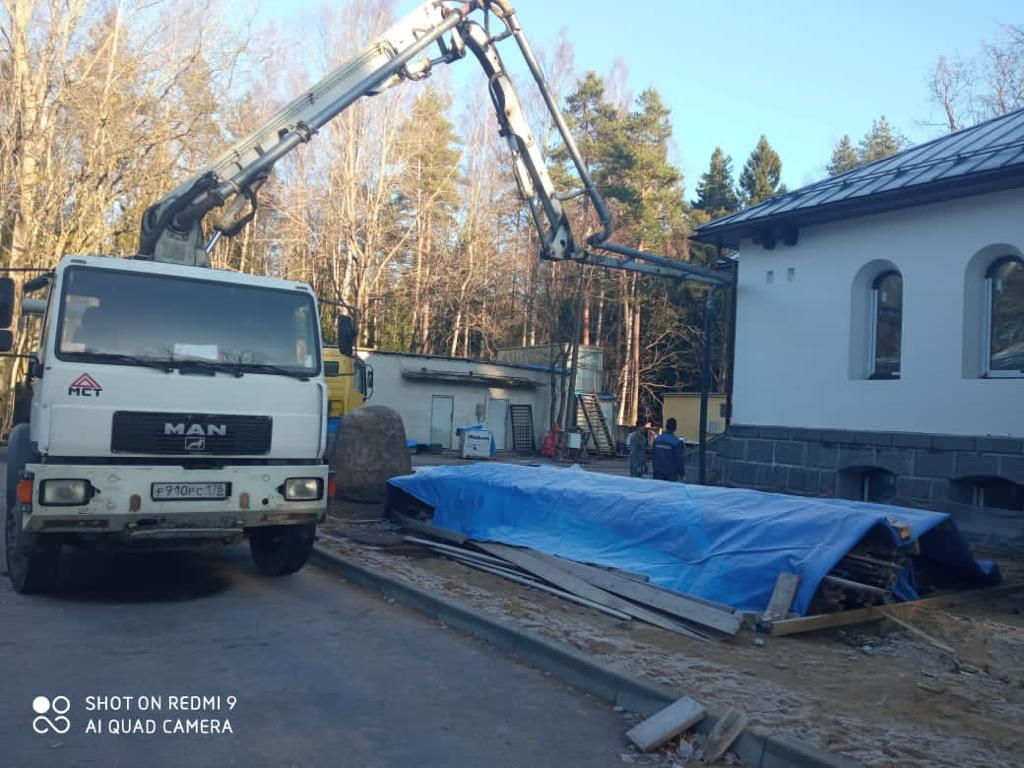 АБН 16 метров на укреплении фундамента